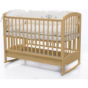 Кроватка Fiorellino Zolly 120х60 natur цены онлайн