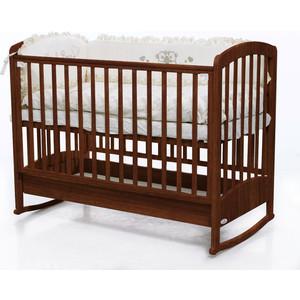 Кроватка Fiorellino Zolly 120х60 oreh кроватка fiorellino slovenia маятник продольный 120х60 wz 3 7026 oreh