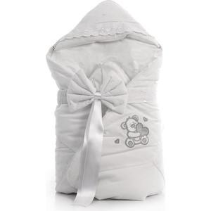Одеяло-конверт Fiorellino Lovely Bear 88х88 см белый