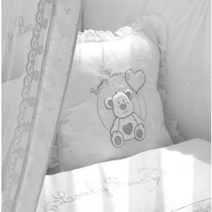 Подушечка Fiorellino Lovely Bear 40х40 см белый