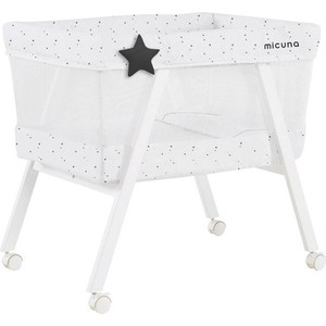 Колыбель Micuna Mini Fresh с текстилем МО-1560 white/stars колыбель с текстилем micuna mini fresh white pio pio