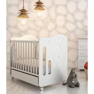 Фотография товара кроватка Micuna Globito 120*60 white (573108)