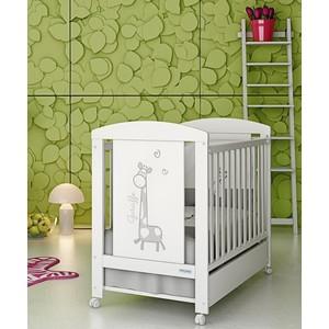 Кроватка Micuna Sabana 120*60 white набор простыней micuna harmony single и harmony plus 120 60 2шт тх 1759 white pink