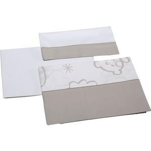 Комплект в кроватку Micuna Dolce Luce 3 предмета 120*60 TX-821 beige постельное белье micuna mare 3 предмета 120 60 тх 821 э0000015833