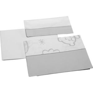 Комплект в кроватку Micuna Dolce Luce 3 предмета 120*60 TX-821 grey постельное белье micuna aura 3 предмета 120 60 тх 821