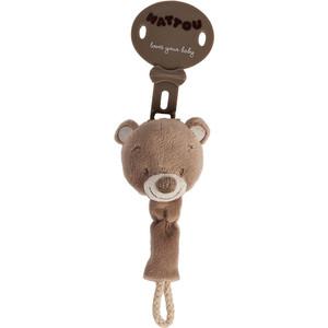 Игрушка мягкая Nattou Max, Noa Tom Мишка 777247 игрушка мягкая nattou charlotte rose жираф и слоник 655187