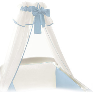 Балдахин Ceba Baby blue W-805-000-161 матрас в коляску ceba baby triangle blue yellow w 814 067 019 э0000017184