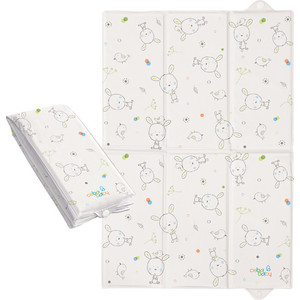 Матраc пеленальный Ceba Baby 40*60 см для путешествий Dream Roll-over white W-305-903-100