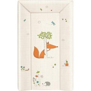 Матраc пеленальный Ceba Baby 70 см мягкий с изголовьем Fox ecru W-103-059-170 матраc пеленальный ceba baby 70 см мягкий с изголовьем fox ecru w 103 059 170