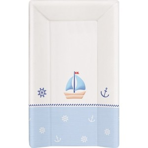 Матраc пеленальный Ceba Baby 70 см с изголовьем на кровать 120*60 см Marine white-blue W-201-010-009 jingleszcn reflective high safety vest for construction traffic sports outdoor clothes jacket security visibility work uniforms