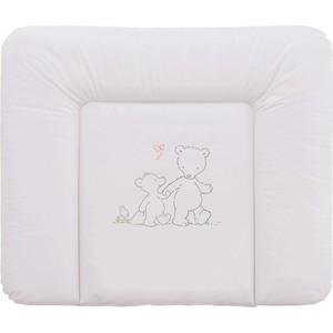 Фотография товара матраc пеленальный Ceba Baby 70*85 см мягкий на комод Papa Bear grey W-134-004-260 (573838)