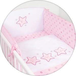 Матраc пеленальный Ceba Baby 70*85 см мягкий на комод Stars pink W-134-066-130 матраc пеленальный ceba baby 70 см мягкий с изголовьем fox ecru w 103 059 170