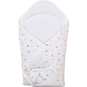 Одеяло-конверт Ceba Baby Dream Roll-over white принт W-810-903-020