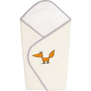 Одеяло-конверт Ceba Baby Fox ecru вышивка W-810-059-170 матраc пеленальный ceba baby 70 см мягкий с изголовьем fox ecru w 103 059 170