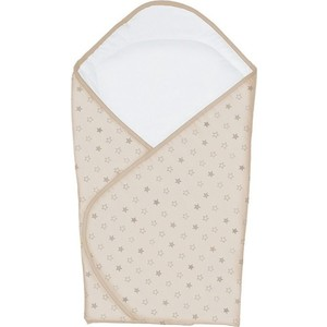 Одеяло-конверт Ceba Baby Stars beige принт W-810-066-111