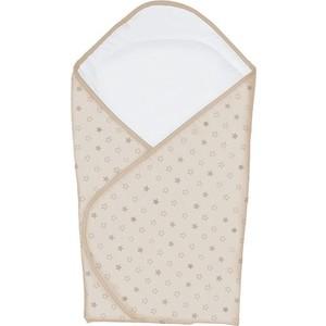 Одеяло-конверт Ceba Baby Stars beige принт W-810-066-111 ceba baby одеяло конверт angel