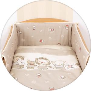 Постельное белье Ceba Baby 3 пр. Ducklings brown Lux принт W-800-050-231-1