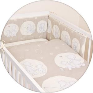 Постельное белье Ceba Baby 3 пр. Papa Bear brown Lux принт W-800-004-230_1