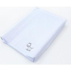 Простынь на резинке Ceba Baby на пеленальный матрасик 50x70 см Zebra blue W-820-002-160