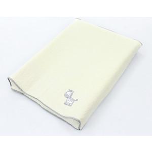 Простынь на резинке Ceba Baby на пеленальный матрасик 50x70 см Zebra grey W-820-002-260