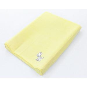 Фотография товара простынь на резинке Ceba Baby на пеленальный матрасик 50x70 см Zebra yellow W-820-002-141 (573905)
