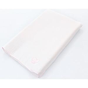 Простынь на резинке Ceba Baby на пеленальный матрасик 50x80 см Little Angel pink W-821-008-130