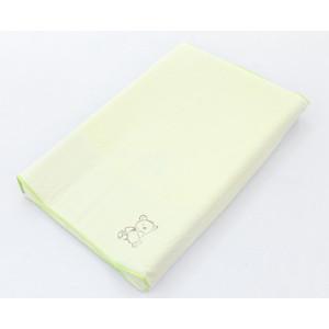 Простынь на резинке Ceba Baby на пеленальный матрасик 50x80 см Little Zoo beige W-821-015-110