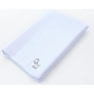 Простынь на резинке Ceba Baby на пеленальный матрасик 50x80 см Zebra blue W-821-002-160
