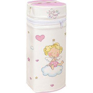 Сумка-термос Ceba Baby Jumbo Little Angel white-pink W-005-008-007