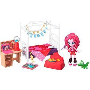 Игровой набор Hasbro мини - кукол MLP Equestria Girls Пижамная вечеринка hasbro игровой набор с мини куклой equestria girls пижамная вечеринка пляжный спорт рэйнбоу дэш