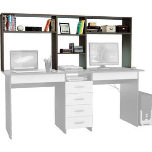Надставка для стола Мастер Тандем-2 (венге) МСТ-НСТ-02-ВМ-16