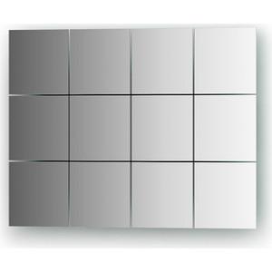 Зеркальная плитка Evoform Refractive со шлифованной кромкой 10 х 10 см, комплект 12 шт. (BY 1402)