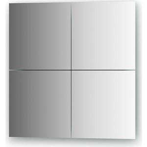 Зеркальная плитка Evoform Refractive со шлифованной кромкой 25 х 25 см, комплект 4 шт. (BY 1408)