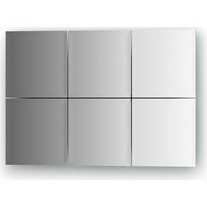 Зеркальная плитка Evoform Reflective с фацетом 10 мм, 15 х 15 см, комплект 6 шт. (BY 1501) 50pcs lot qrd1114 reflective photoelectric switch analog output