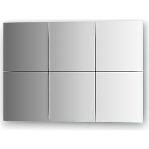 Зеркальная плитка Evoform Reflective с фацетом 10 мм, 20 х 20 см, комплект 6 шт. (BY 1503) 50pcs lot qrd1114 reflective photoelectric switch analog output