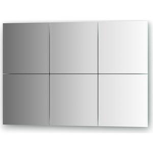 Зеркальная плитка Evoform Reflective с фацетом 10 мм, 25 х 25 см, комплект 6 шт. (BY 1505)