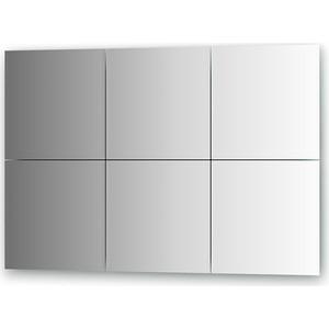 Зеркальная плитка Evoform Reflective с фацетом 10 мм, 30 х 30 см, комплект 6 шт. (BY 1507)