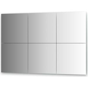 Зеркальная плитка Evoform Reflective с фацетом 10 мм, 40 х 40 см, комплект 6 шт. (BY 1509)