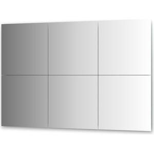 Зеркальная плитка Evoform Reflective с фацетом 10 мм, 50 х 50 см, комплект 6 шт. (BY 1511) 50pcs lot qrd1114 reflective photoelectric switch analog output