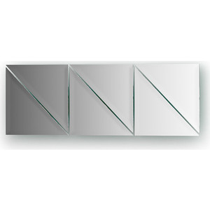 Зеркальная плитка Evoform Reflective с фацетом 10 мм, 15 х 15 см, комплект 6 шт. (BY 1513) 50pcs lot qrd1114 reflective photoelectric switch analog output