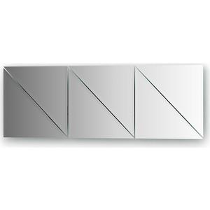 Зеркальная плитка Evoform Reflective с фацетом 10 мм, 25 х 25 см, комплект 6 шт. (BY 1517)
