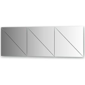 Зеркальная плитка Evoform Reflective с фацетом 10 мм, 40 х 40 см, комплект 6 шт. (BY 1521)
