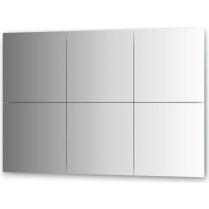 Зеркальная плитка Evoform Reflective с фацетом 15 мм, 40 х 40 см, комплект 6 шт. (BY 1533)