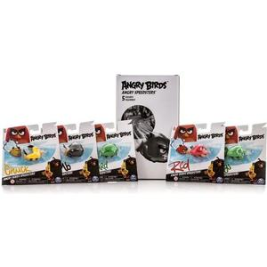 Игрушка Angry Birds набор из 5 птичек на колесах (90508)