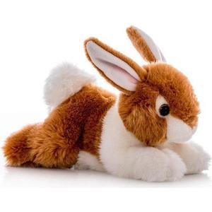 Игрушка мягкая Aurora Кролик коричневый 28 см