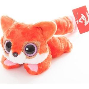 Игрушка мягкая Aurora Юху и друзья - Лисица красная лежачая 16 см