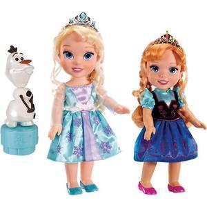 Игровой набор Disney Princess Холодное Сердце Принцессы Дисней 2 куклы и Олаф (310170) mattel disney princess кукла принцессы дисней золушка с развевающейся юбкой chg56
