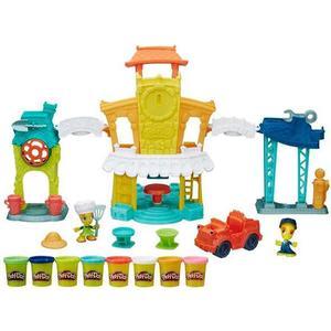 Игровой набор Hasbro Play-Doh Город Главная улица (B5868) оружие игрушечное hasbro hasbro бластер nerf n strike mega rotofury