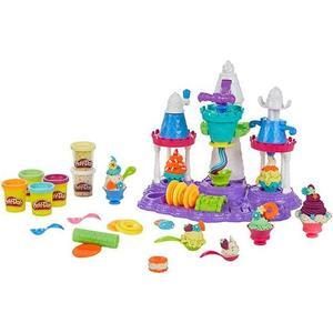 Игровой набор Hasbro Play-Doh Замок мороженого (B5523) hasbro play doh игровой набор из 3 цветов цвета в ассортименте с 2 лет