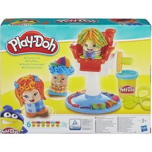 Игровой набор Hasbro Play-Doh Сумасшедшие прически (B1155) hasbro play doh игровой набор из 3 цветов цвета в ассортименте с 2 лет